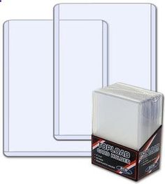 25 - BCW Premium 3 X 4 Top Loader Card Holder for Baseball  Other Trading / Gaming Cards (1 mm Thickness) by BCW. $5.48. The BCW Premium 3 X 4 toploading card holders are known as the most popular rigid individual card holder in the collectible card industry. Use this product to protect store or display collectible baseball cards, football cards, hockey cards or other trading cards like Magic the Gathering, Pokemon YuGiOh! and others. The PVC used in BCW Toploads contain no pl...
