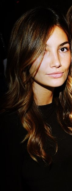 Lily Aldridge is one of my favorite fashion models.