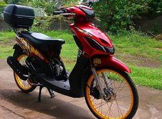 9 Best Modifikasi Motor Mio Sporty 2009 Images Sporty Yamaha