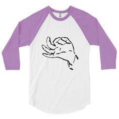 Universal Hand Gesture Baseball T-shirt