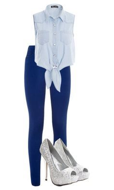 """""""Ootd"""" by makayla-10 ❤ liked on Polyvore featuring Saba"""