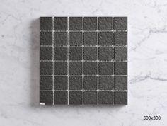 MSFT4505CW DARK GREY PORCELAIN MOSAIC - ANTISLIP Sheet Sizes, Mosaics, Dark Grey, Porcelain, Porcelain Ceramics, Mosaic, Tableware