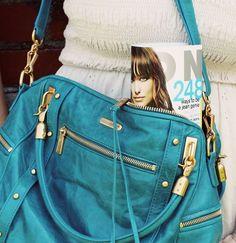 turquoise bag <3