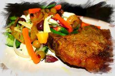 My Kitchen Creations & Comfort Foods Pork Loin, Tandoori Chicken, Make It Simple, Dishes, Ethnic Recipes, Easy, Kitchen, Food, Pork Fillet