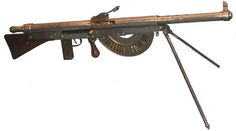 Chauchat machine gun France 8mm. Lebel. Not great but not as bad as everyone thinks unless it's the 30.06 version