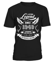 Men/'s 42nd Birthday T-Shirt 1976 Fathers Day Living Legend Gift Idea Any Year!
