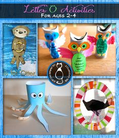 Glimmercat: Letter O Activities for Ages 2 to 4