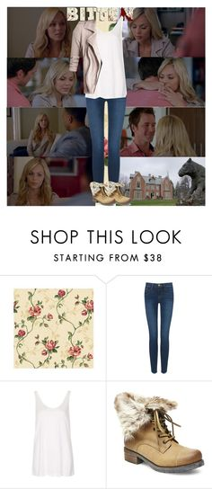 """""""Bitten~Elena Michaels~1x06~Commited"""" by fashion10496 ❤ liked on Polyvore featuring Frame Denim, Topshop and Steve Madden"""