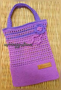 Knit Frame Crochet Hand Bag by MPringgadhani