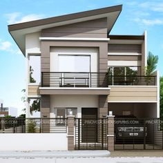 Modern Properties Two Story Houses House Facades Mateo Model Is A Four Bedroom To Plan That Can Conveniently Be Constructed