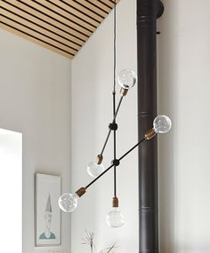 Armstrong | Pendant light | Olive & the Fox £299 + £25 per bulb x5 Ordered