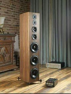 High end audio audiophile Bryston T speakers