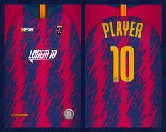 Soccer Jersey Template-sport T-shirt Design Sport T Shirt, Sport Wear, Soccer Outfits, Football Kits, Coreldraw, Shirt Designs, Cool Outfits, Vector Freepik, Shirts