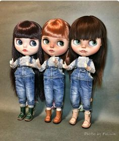 Three blythes.... unfortunately this pin takes nowhere, and google search gave no results... thus, who knows who's Felicia?