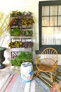9 ý tưởng làm vườn cây trên các bức tường - VnExpress Gia đình