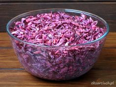 Polish Recipes, Polish Food, Coleslaw, Vegetable Dishes, Great Recipes, Side Dishes, Cabbage, Sweet Treats, Food And Drink