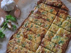 Recepty na hubnutí Pizza chléb bez mouky (lowcarb, keto) - Recepty na hubnutí Low Carb Recipes, Healthy Recipes, Lchf, Quiche, Zucchini, Protein, Health Fitness, Vegetables, Breakfast