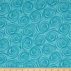 Designed by Maria Kalinowski for Kanvas in association with Benartex, this cotton print fabric features an abstract design and is perfect for quilting, apparel and home decor accents. Colors include shades of blue. Weighted Blanket, White Wood, Shades Of Blue, Accent Decor, Printing On Fabric, Lamb, Wicker, Sewing Projects, Teal