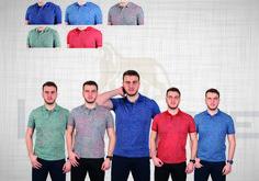 Polo Yaka Baskılı T-Shirt Polo, T Shirt, Polos, Tee, Tee Shirt