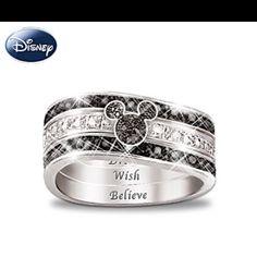 Hidden mickey ring
