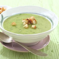 Bieslooksoep met croutons Recept | Weight Watchers Nederland