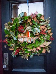 Dress up your front porch and yard with these holiday outdoor decorating ideas that last from the first days of fall through the New Year. They look great on a porch or just outside your door.