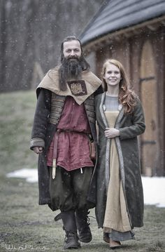 """""""The couple came out to greet us, with beaming faces, and open arms of welcome...and immediately our hearts were warmed at the sight, for we knew that for the time being, we had found ourselves at home."""" Vikings"""