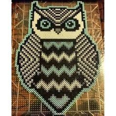 owl perler bead pattern - Google Search