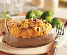Twice Baked Sweet Potatoes - Daisy Brand