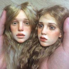 Russian artist creates life-like dolls.