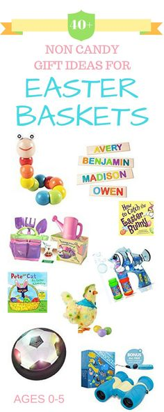 Fill your children's Easter baskets with more than just candy. Here's a roundup of great toys and books perfect for your little bunnies. Easter Activities, Easter Crafts For Kids, Activities For Kids, Easter Ideas, Easter Recipes, Easter Decor, Craft Stick Crafts, Crafts To Do, Filled Easter Baskets