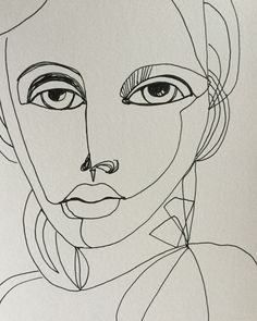 Ink on paper by Lisa Lieber