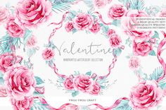 Valentine by frou frou on @creativemarket