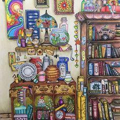 #inkyivy #ivyandtheinkybutterfly #johannabasfordivyandtheinkybutterfly #johannabasford #bayan_boyan #colouringbook #coloring #coloringforadults #coloringforfun #coloringfordays #coloringhabit #colorings #prismacolor #gelpens #adultcoloringbook #adultcoloring