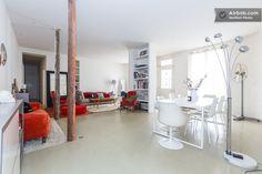 Charming Loft/Apt near Montmartre in Paris Paris Rooms, Paris Accommodation, Perfect Place, Condo, Loft, Vacation, Bed, Places, Furniture