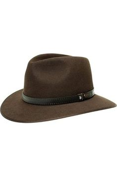 Hombre Sombreros - Sombrero The Outback Opal by sombrero de  fieltrotraveller (61 cm -) 35da73346ad