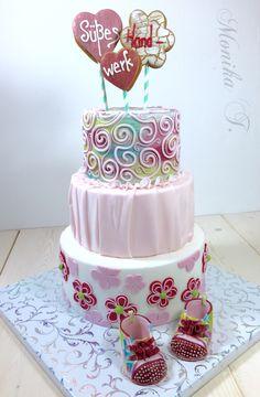 Süßes Handwerk Torte