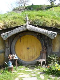 hobbit house, I will have one