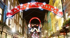 Carnaby Christmas Lights and Shopping Party 2014