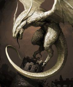 Wyvern Art by Kimbum Korean illustrator Mythological Creatures, Fantasy Creatures, Mythical Creatures, Kim Bum, Dark Fantasy, Fantasy Art, Dnd Dragons, Snake Art, Dragon Artwork