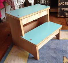 Step Stool, Modern Step Stool, Wooden Step Stool