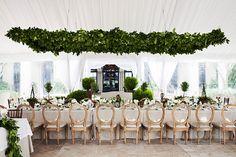 Brides: An Elegant, Garden-Party Wedding in Sea Island, Georgia