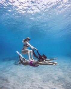 Who needs a car when you have mermaids!?  - KAIKINI.COM | shop link in bio  . . . . . #mermaidlife #underwaterworld #hawaiiunchained #hilife #808life #alohaoutdoors #adventurelife