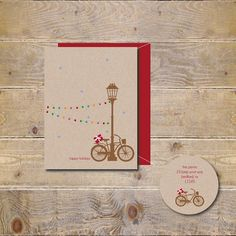 These sweet holiday cards are a perfect way to wish your friends and family a happy holiday!    These are so fun!    Printed on heavy 110lb cotton white