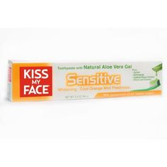 #DentalSupplies Senstive Toothpaste by #Kiss My #Face 3.4 oz Paste Senstive Toothpaste 3.4 oz Paste Longer Lasting Effectiveness Free from Flouride and Sodium Lau...