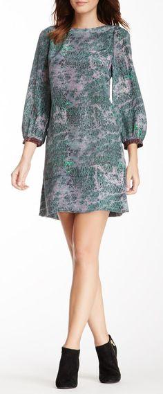 3/4 Boatneck Dress