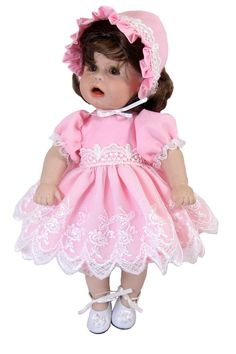 """Petite Baby Dress for 10"""" Dolls"""