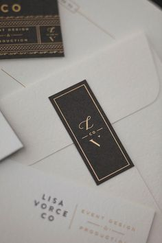 letter press envelopes - stationery