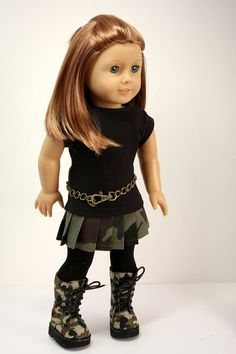 American Girl Doll My 7 year old is getting an American girl doll for Christmas and she needs this outfit :)