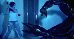 """Science Fiction Art - """"The Giant Scorpion"""" - Alien abduction Sci-Fi Short Movie Watch here: http://www.andrearicca.it/the-giant-scorpion.html- Andrea Ricca Sci-Fi Short Movies, #scifi, #aliens, #sciencefiction, #spaceship, aliens abduction, close encounters, space monsters, science fiction art, spaceship, alien invasion, grey aliens, CGI, VFX, 3D, giant animals, giant spider, giant scorpion,  http://www.andrearicca.it/the-giant-scorpion.html  https://www.youtube.com/watch?v=OQCLQi96AkU"""